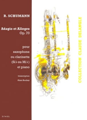 SCHUMANN - Adagio - Allegro Opus 70 - Partition - di-arezzo.com