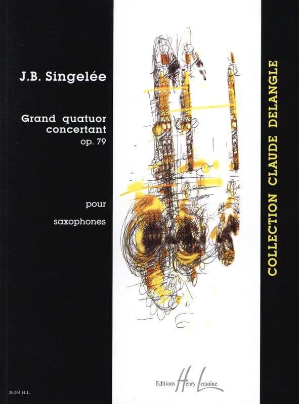 Jean-Baptiste Singelée - Gran Cuarteto del Opus Opus 79 - Partition - di-arezzo.es