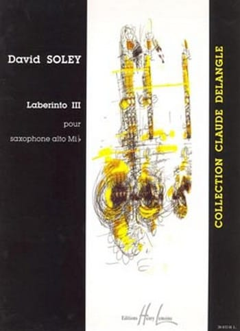 Laberinto 3 - David Soley - Partition - Saxophone - laflutedepan.com
