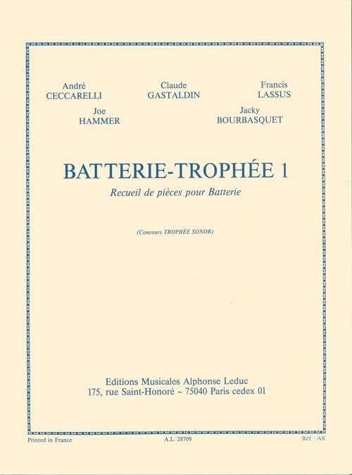 Batterie-Trophée 1 - Partition - Batterie - laflutedepan.com