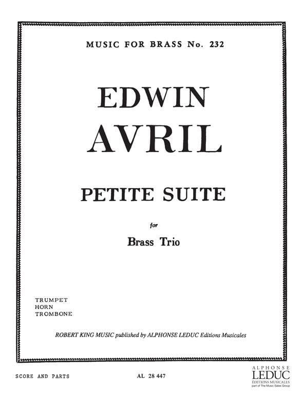 Petite Suite - Edwin Avril - Partition - laflutedepan.com