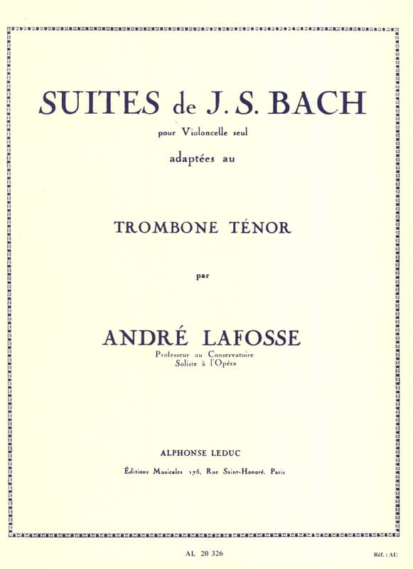 BACH - Suites - Partition - di-arezzo.com