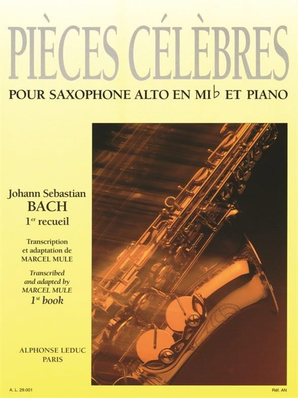 Pièces Célèbres Volume 1 - BACH - Partition - laflutedepan.com