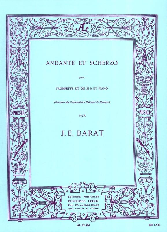 Joseph Eduard Barat - Andante y Scherzo - Partition - di-arezzo.es