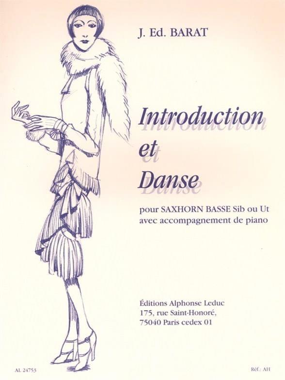 Introduction Et Danse - Joseph Eduard Barat - laflutedepan.com