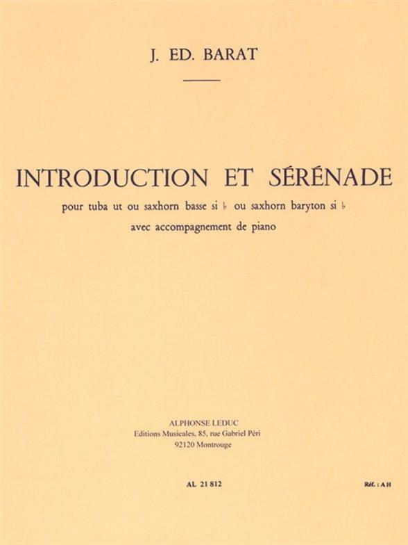 Introduction Et Sérénade - Joseph Eduard Barat - laflutedepan.com