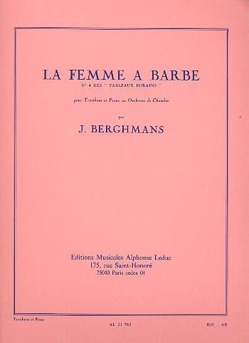 José Berghmans - La Femme A Barbe - les Tableaux Forains N° 4 - Partition - di-arezzo.fr