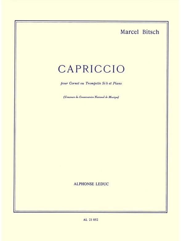 Marcel Bitsch - capricho - Partition - di-arezzo.es