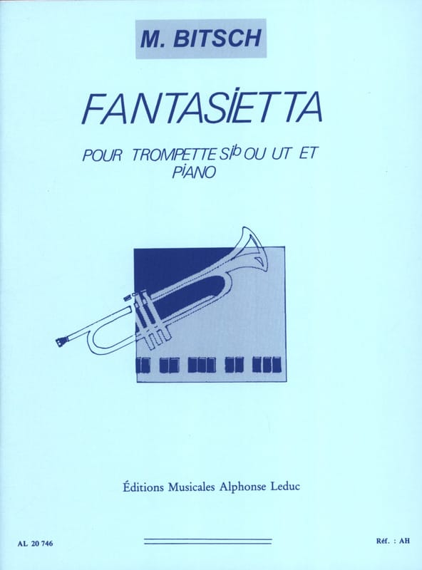 Marcel Bitsch - Fantasietta - Partition - di-arezzo.co.uk