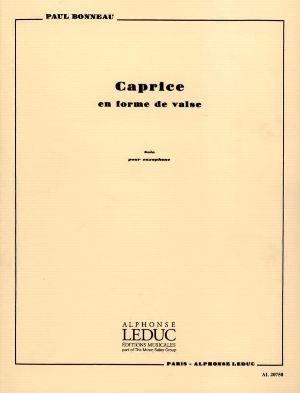 Paul Bonneau - Caprice Waltz - Partition - di-arezzo.co.uk