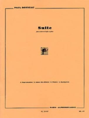 Paul Bonneau - Suite - Partition - di-arezzo.fr