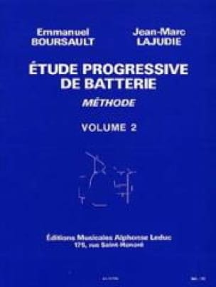 BOURSAULT - LAJUDIE - Progressive Battery Study - Volume 2 Method - Partition - di-arezzo.co.uk