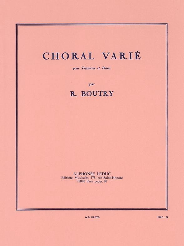 Roger Boutry - 多様な合唱 - Partition - di-arezzo.jp