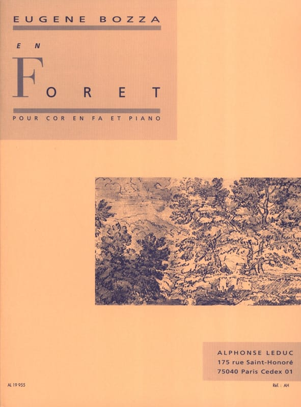 Eugène Bozza - In forest - Partition - di-arezzo.com