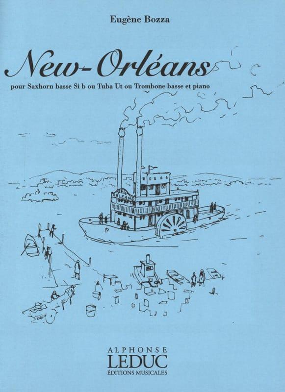 Eugène Bozza - New Orleans - Partition - di-arezzo.fr