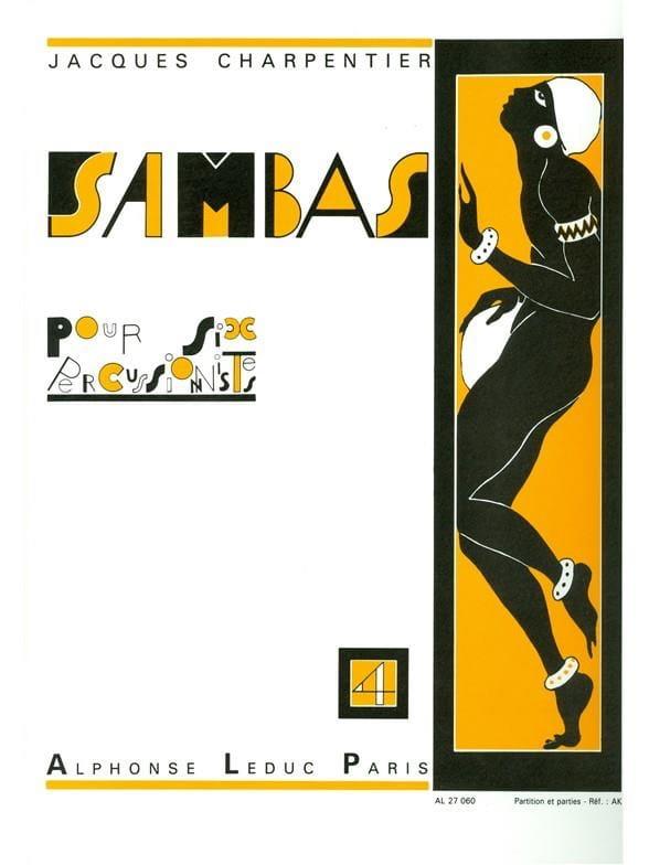 Sambas N° 4 - Jacques Charpentier - Partition - laflutedepan.com