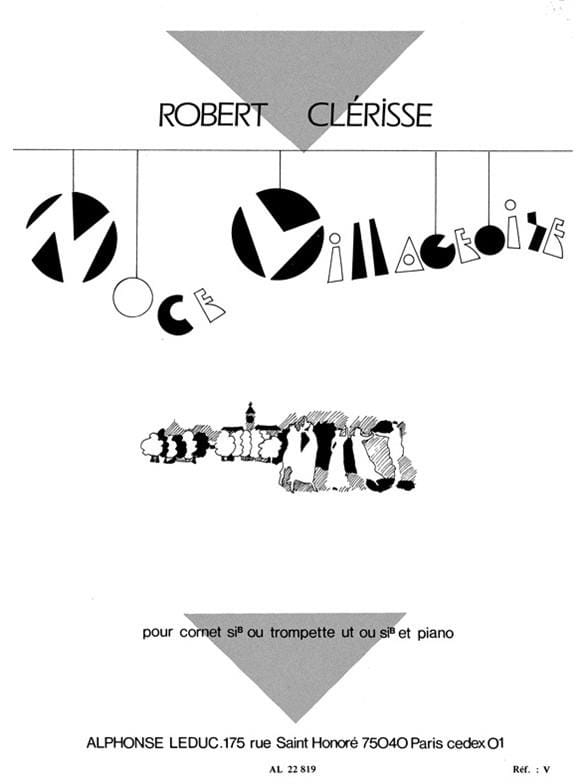 Noce Villageoise - Robert Clérisse - Partition - laflutedepan.com