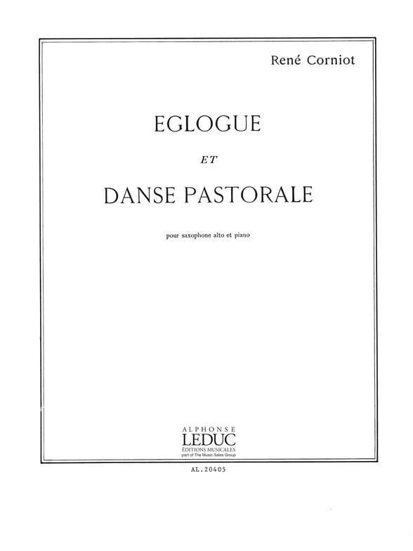 Eglogue Et Danse Pastorale - René Corniot - laflutedepan.com