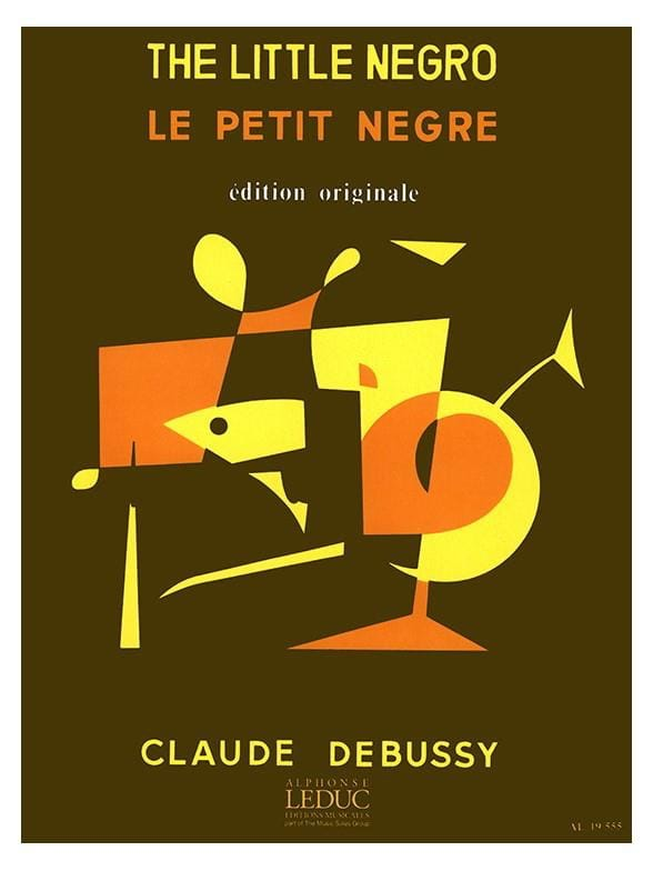 DEBUSSY - The Little Nègre - Partition - di-arezzo.co.uk