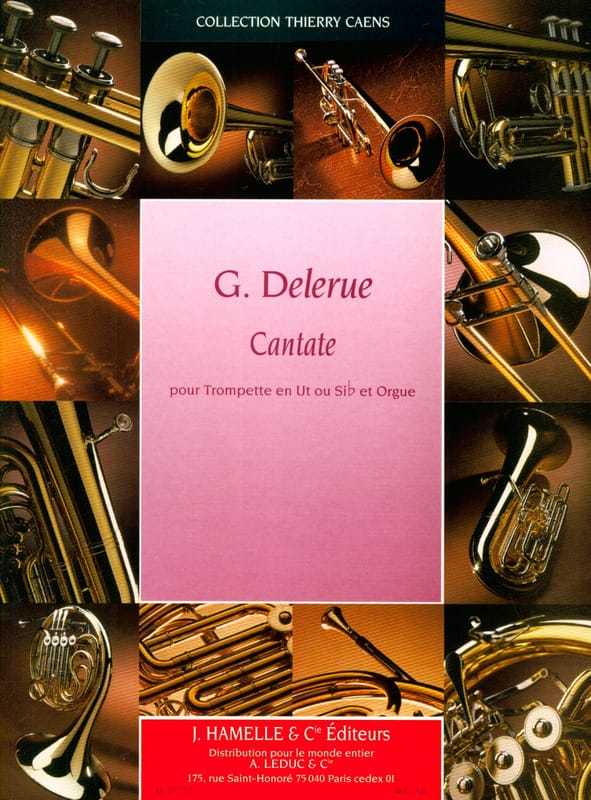 Georges Delerue - cantata - Partition - di-arezzo.es