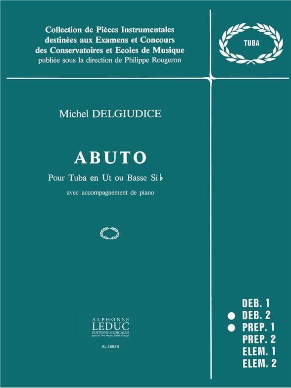 Abuto - Michel Del Giudice - Partition - Tuba - laflutedepan.com