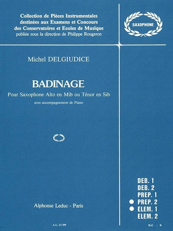 Michel Del Giudice - banter - Partition - di-arezzo.com