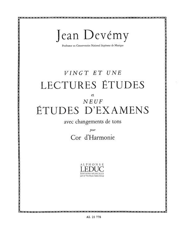 21 Lectures Etudes et 9 Etudes d'Examens - laflutedepan.com