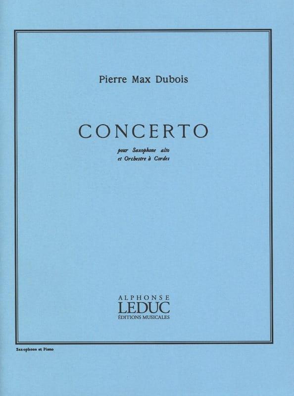 Pierre-Max Dubois - Concerto - Partition - di-arezzo.com