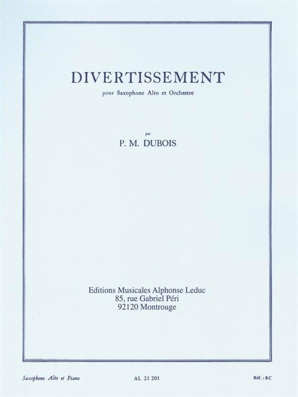 Pierre-Max Dubois - Entertainment - Partition - di-arezzo.co.uk