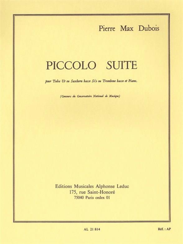 Pierre-Max Dubois - Piccolo Suite - Partition - di-arezzo.com