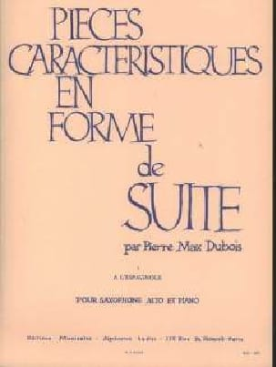 Pierre-Max Dubois - Pieces Features Volume 1 - A Spanish - Partition - di-arezzo.co.uk