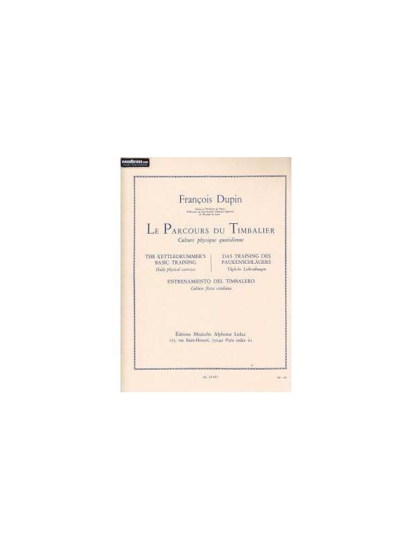 François Dupin - Curso de Timbalier - Partition - di-arezzo.es
