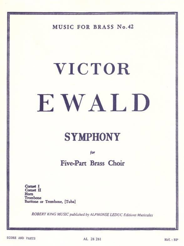Victor Ewald - Symphony - Partition - di-arezzo.com