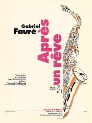 Après un rêve Opus 7 N° 1 - Gabriel Fauré - laflutedepan.com
