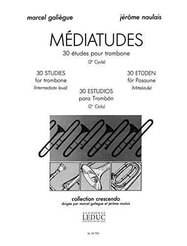Galiègue M. / Naulais J. - Medias - 30 Studies - Partition - di-arezzo.co.uk