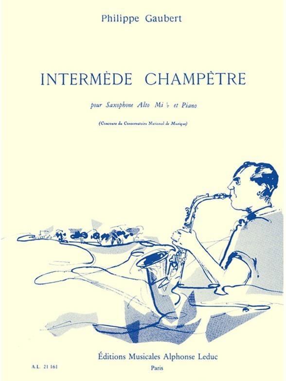 Philippe Gaubert - Intermède champetre - Partition - di-arezzo.fr