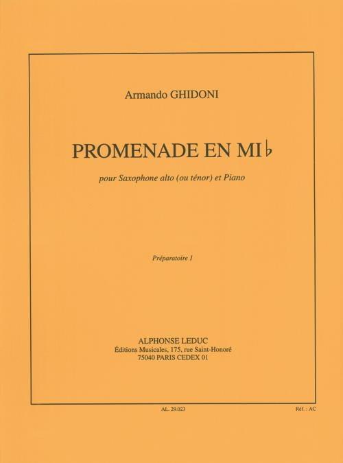 Promenade En Mib - Armando Ghidoni - Partition - laflutedepan.com