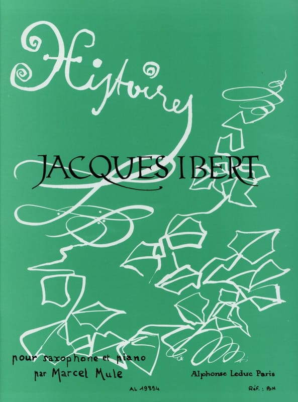 Jacques Ibert - Stories Collection - Partition - di-arezzo.co.uk