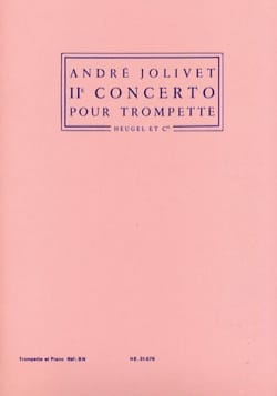 André Jolivet - 2nd Concerto - Partition - di-arezzo.co.uk