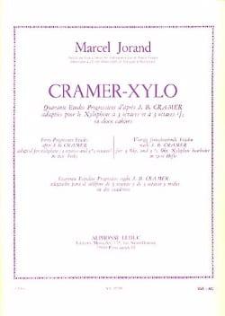 Marcel Jorand - 40 Studies According to Cramer Volume 2 - Partition - di-arezzo.com