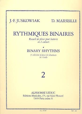 Juskowiak / Marseille - Binary Rhythmic Volume 2 - Partition - di-arezzo.com