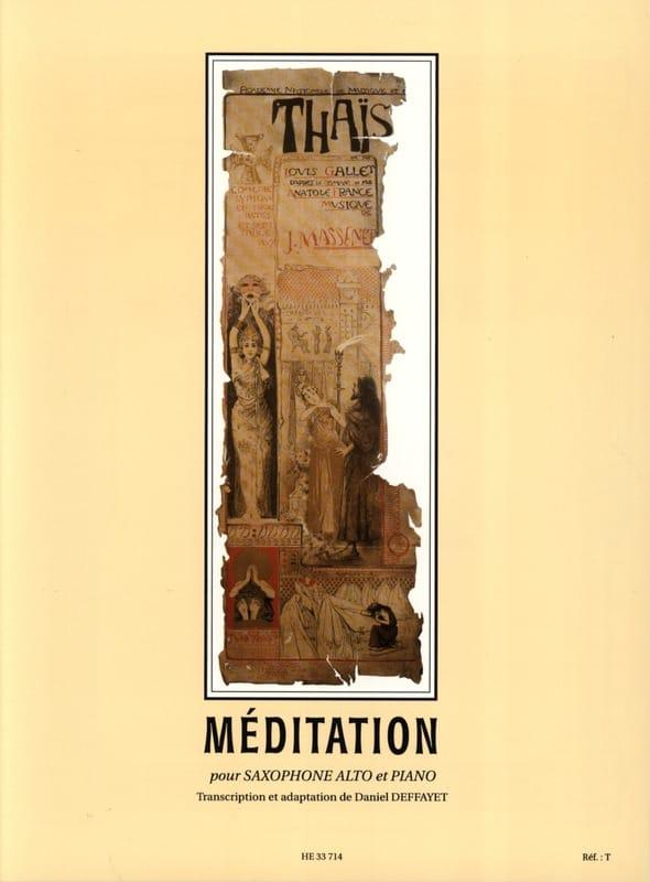 Thais, Méditation - MASSENET - Partition - laflutedepan.com