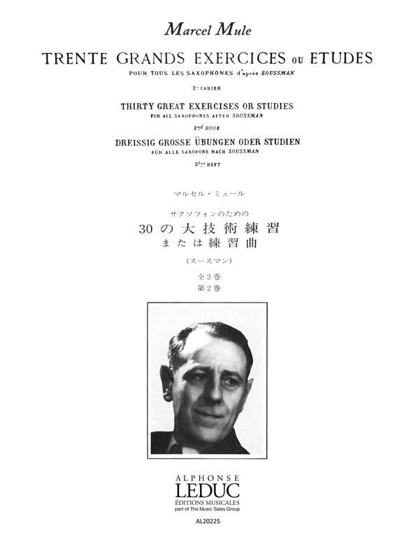 30 Grands Exercices Volume 2 - Marcel Mule - laflutedepan.com