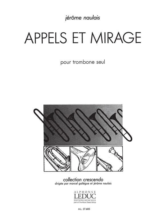 Jérôme Naulais - Llamadas y Mirage - Partition - di-arezzo.es