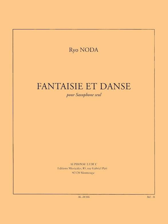 Ryo Noda - Fantasy and dance - Partition - di-arezzo.co.uk