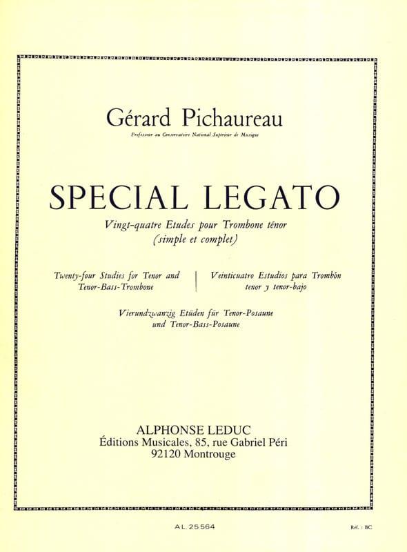 Spécial Legato - 24 Etudes - Gérard Pichaureau - laflutedepan.com