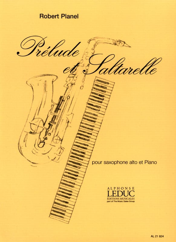 Robert Planel - Prelude And Saltarelle - Partition - di-arezzo.co.uk