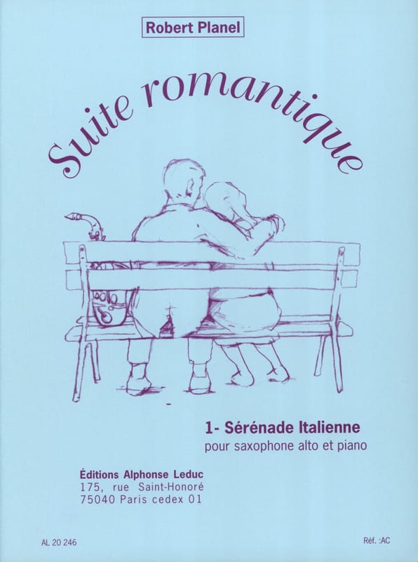 Robert Planel - Romantic Suite Volume 1 - Italian Serenade - Partition - di-arezzo.com
