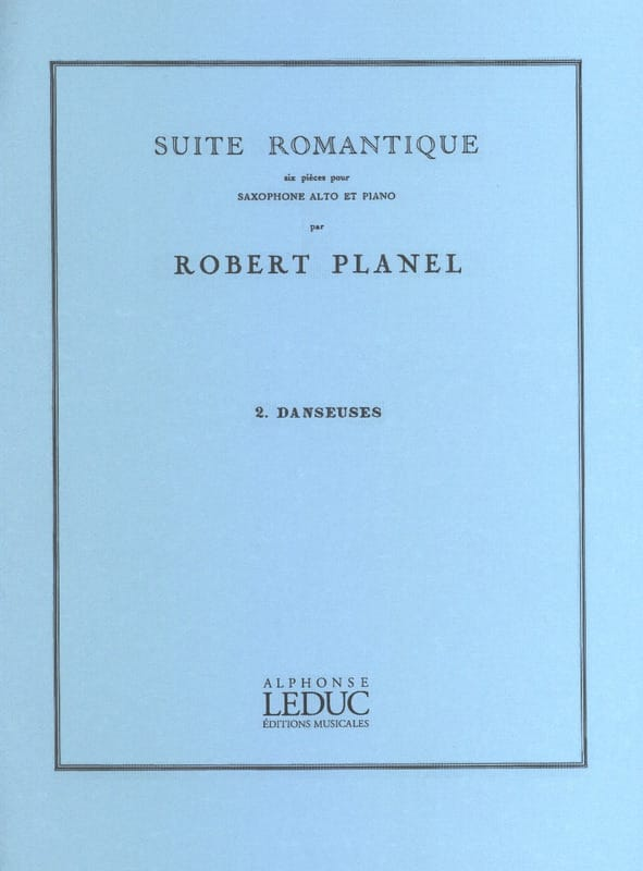 Robert Planel - Romantic Suite Volume 2 - Dancers - Partition - di-arezzo.com