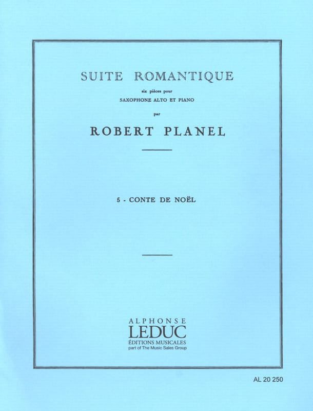 Robert Planel - Romantic Suite Volume 5 - Christmas Tale - Partition - di-arezzo.com